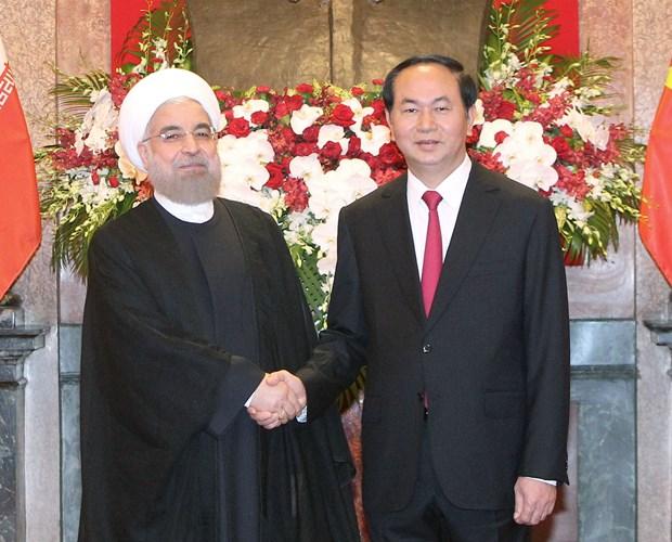 越伊两国领导一致同意进一步加强多方面的合作 hinh anh 2