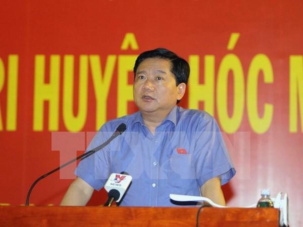 越南第十四届国会第二次会议前夕:党和国家领导接触全国各地选民 hinh anh 4