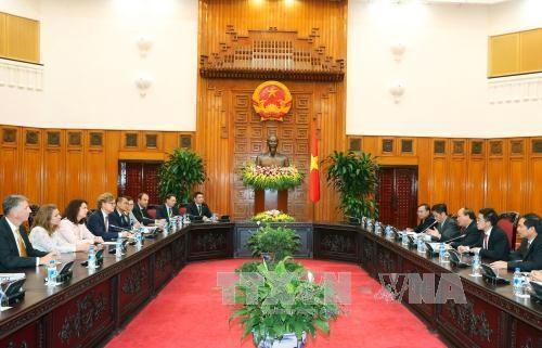 越南政府总理阮春福会见瑞典贸易大臣安·林德 hinh anh 1