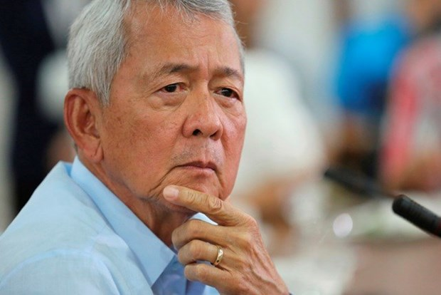 菲律宾不打算与中国建立军事同盟 hinh anh 1
