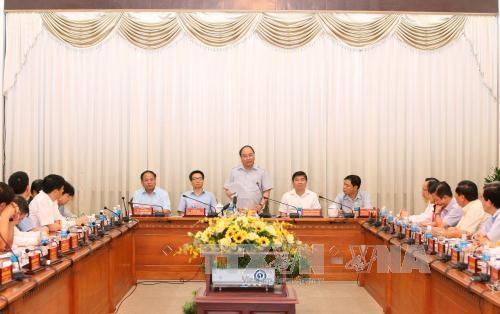 阮春福总理:胡志明市应制定绿色食品供应链发展规划 hinh anh 2