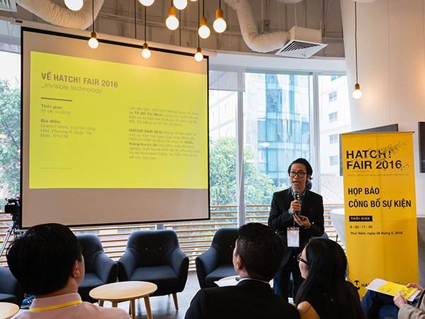 250家企业参加胡志明市HATCH!FAIR2016创业会议及展览会 hinh anh 1