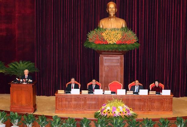 阮富仲总书记:提高经济竞争力是国家革新事业成功的决定性因素 hinh anh 1