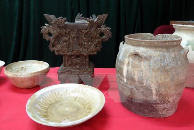越南考古文物展在德国赫恩市举行 hinh anh 1