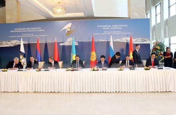 俄经济专家:《越南与欧亚经济联盟的自由贸易协定》将为越南带来大机会 hinh anh 1