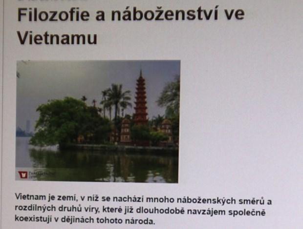 捷克媒体赞美越南宗教政策 hinh anh 1