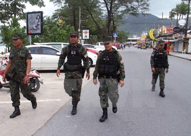 泰警加强曼谷安保工作 应对潜在爆炸袭击威胁 hinh anh 1