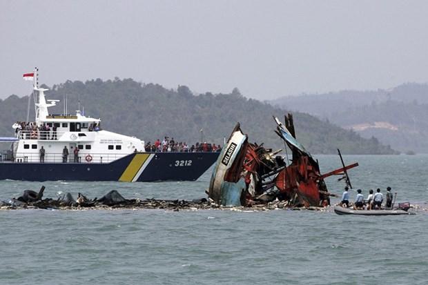 印尼呼吁全球合作打击非法捕鱼活动 hinh anh 1