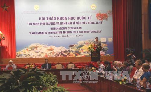 有关保障东海环境安全的国际研讨会在海防市举行 hinh anh 1