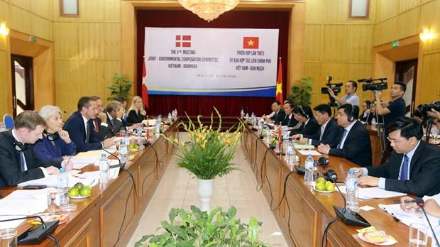 越南与丹麦继续加深全面伙伴关系 hinh anh 1