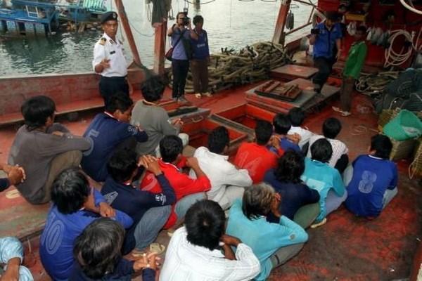 马来西亚拘留20名越南渔民 hinh anh 1