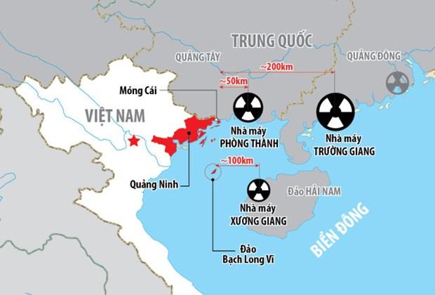 越南要求中方尽早同越方配合建立有关各核电项目的信息互换机制 hinh anh 1