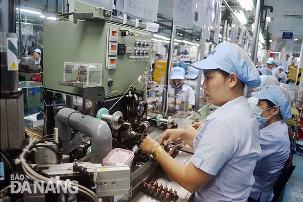 越南岘港市努力增强企业发展信心 hinh anh 1
