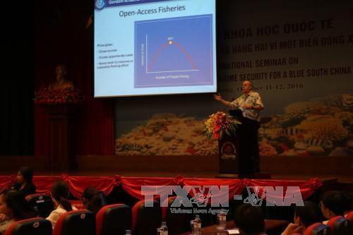 有关保障东海环境安全的国际研讨会:国际法必须得到尊重 hinh anh 1