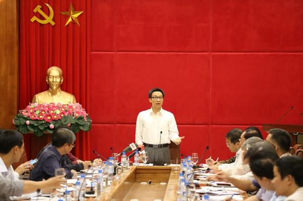 越南政府副总理武德儋:严厉打击骗取医保基金的违法行为 hinh anh 1