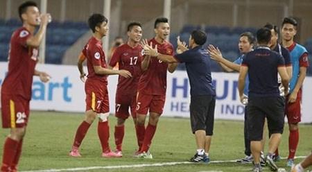2016年亚洲U19青年足球锦标赛决赛:越南队以2比1击败朝鲜队 hinh anh 1