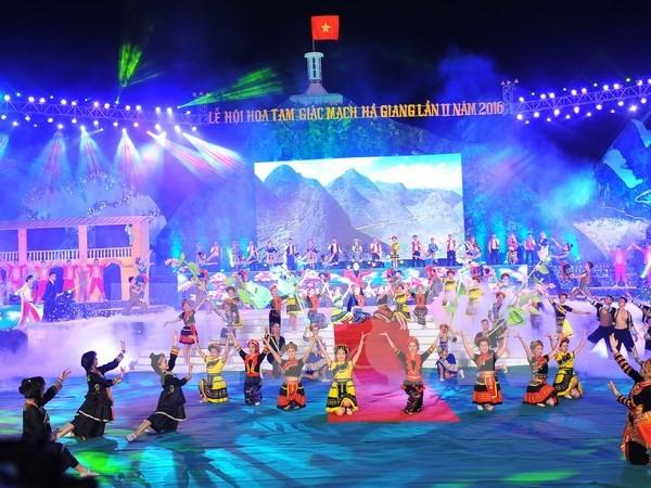 2016年第二届荞麦花节正式开幕 hinh anh 1