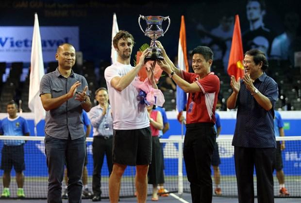 2016年越南网球公开赛:澳大利亚选手Jordan Thompson夺魁 hinh anh 1