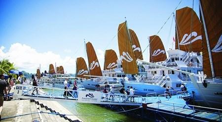 巡州国际客运港:下龙旅游业的新面貌 hinh anh 1