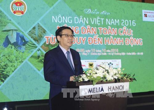 越南政府副总理王廷惠:加大新科技应用给力农业生产发展 hinh anh 1