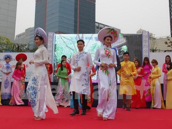 越南文化节暨越南劳工节在韩国举行 hinh anh 1