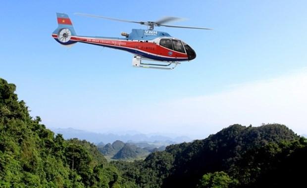 越南一架直升机训练时失联 hinh anh 1