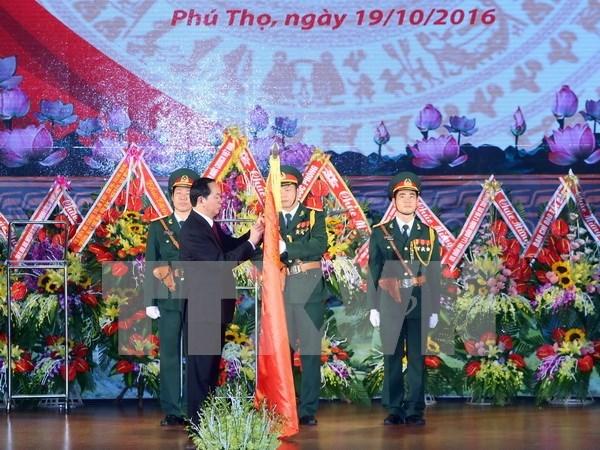 陈大光主席:建设绝对忠于党、祖国和人民的第二军区武装力量 hinh anh 1