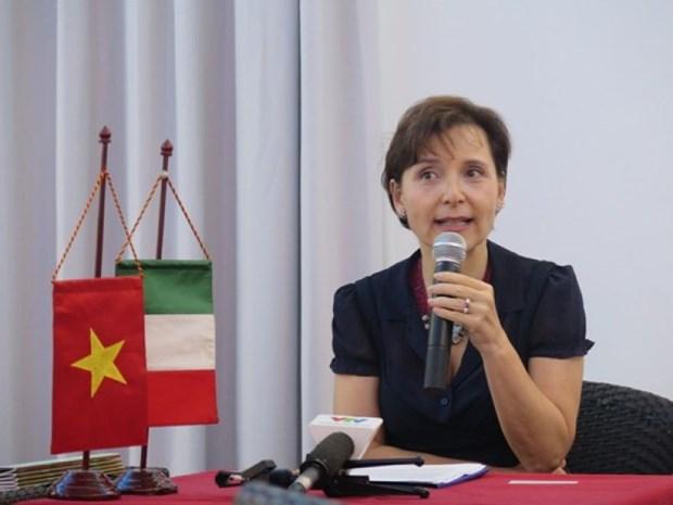 越南与意大利签署各项贷款备忘录 hinh anh 1