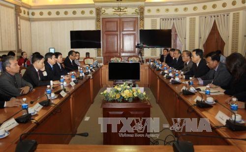 胡志明市一向重视巩固与柬埔寨的合作 hinh anh 1