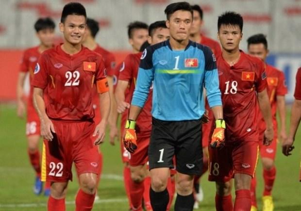 2016年亚足联U19青年锦标赛:战平伊拉克队越南队有机会参加2017年U20世界杯足球赛 hinh anh 1
