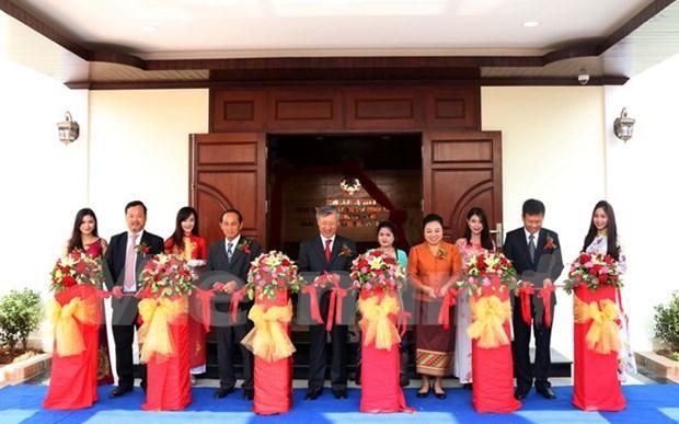 越南驻老挝琅勃拉邦总领事馆新总部正式落成 hinh anh 1