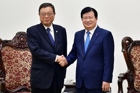 日本帝位奈特国际信息发展组织计划在越南建设日本式农业合作社 hinh anh 1