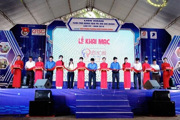 青年创新节在胡志明市举行 hinh anh 1