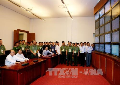 阮春福总理视察ACMECS7、CLMV8系列会议准备工作 hinh anh 1