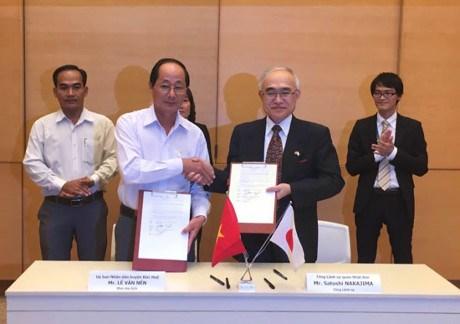 日本向越南南方部分省市提供超过40万美金无偿援助 hinh anh 1