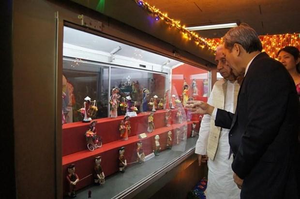 印度尚卡尔国际玩偶博物馆越南玩偶角落正式开放 hinh anh 1