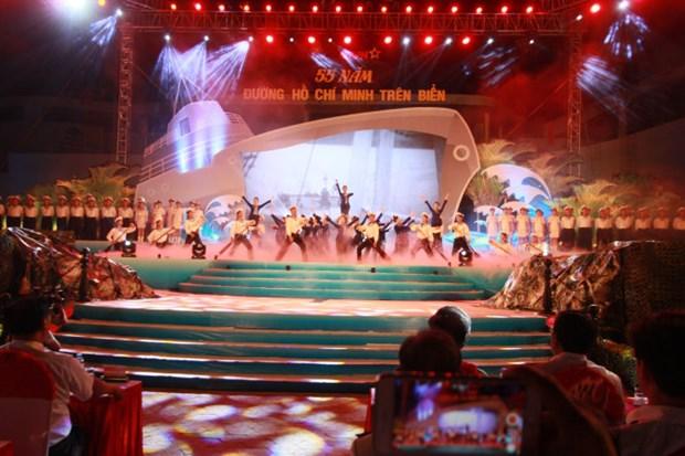 海上胡志明小道开辟55周年交流活动在海防市举行 hinh anh 1