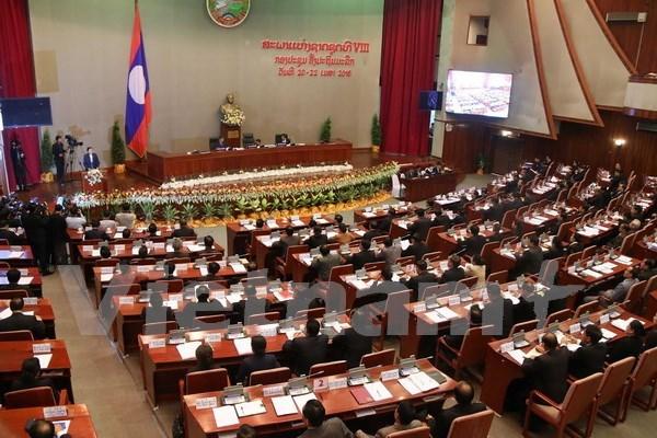 老挝第八届国会第二次会议今日开幕 hinh anh 1