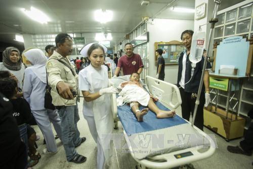 泰国南部发生炸弹袭击致多人伤亡 hinh anh 1