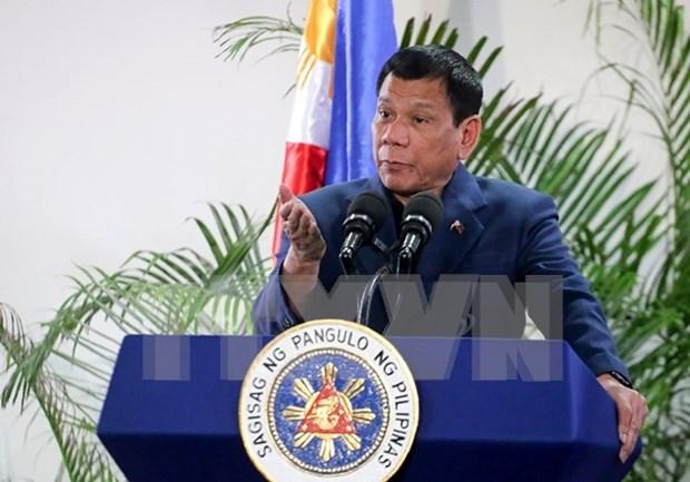 菲总统杜特尔特:除美国以外菲律宾并不打算结交任何其他军事盟友 hinh anh 1