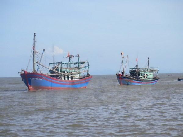 泰国拦截越南五艘渔船和28名渔民 hinh anh 1