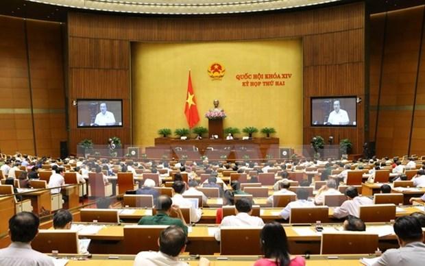 越南第十四届国会第二次会议发表第四号公报 hinh anh 1