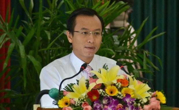 越南岘港市和老挝各地加强合作关系 hinh anh 1