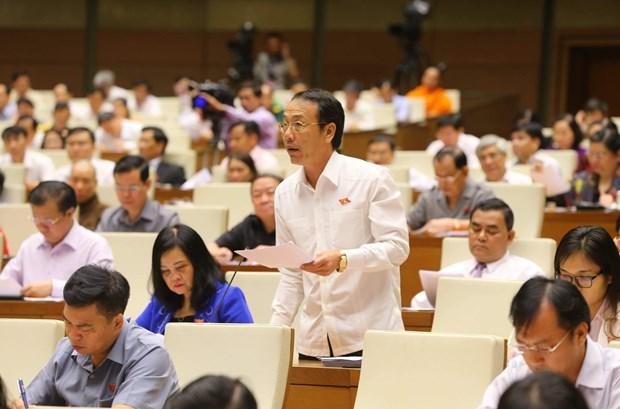 越南第十四届国会第二次会议集中讨论《结社法(草案)》 hinh anh 1