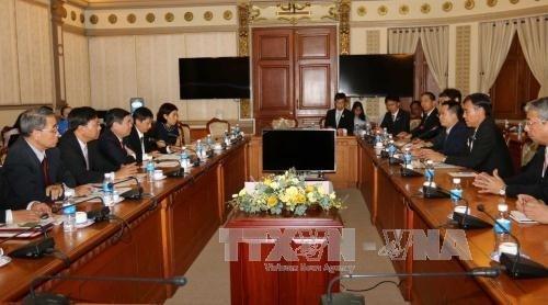 胡志明市与日本长野县加强经济合作 hinh anh 1