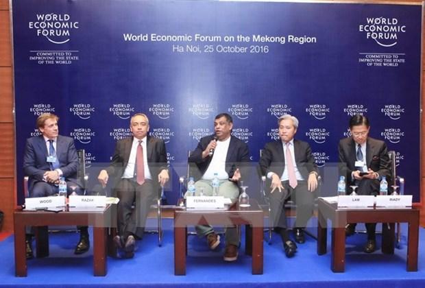 世界经济论坛东盟地区商务理事会正式成立 hinh anh 1