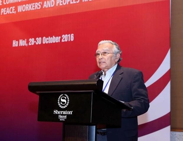 第十八次共产党和工人党国际会议在河内开幕 hinh anh 1
