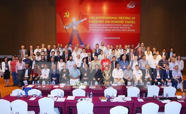 越南对国际共产主义与工人运动做出积极贡献 hinh anh 1