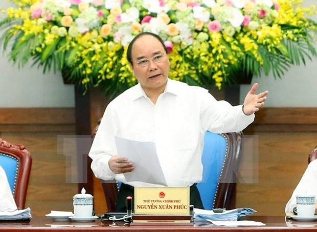 阮春福总理:努力抑制好通胀推动经济增长 hinh anh 1