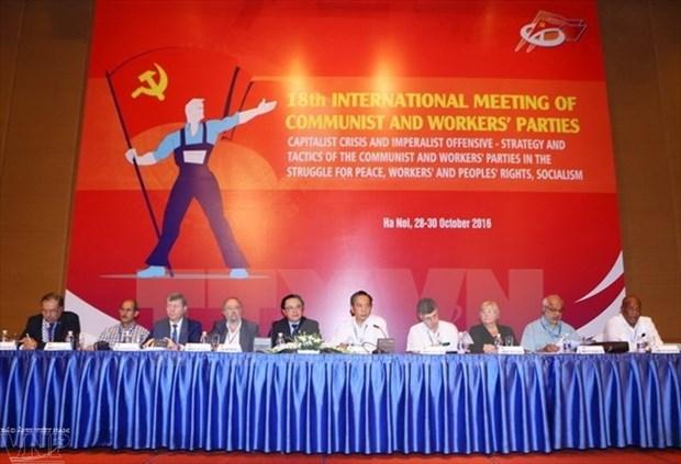 第十八次共产党和工人党国际会议落下帷幕 hinh anh 1
